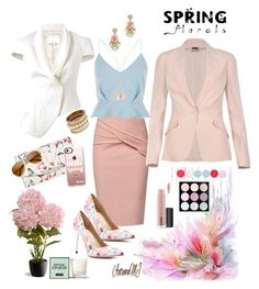 Everything Spring by autumnmj on Polyvore featuring polyvore, fashion, style, River Island, Alexander McQueen, 3.1 Phillip Lim, WtR, GUESS by Marciano, Ivanka Trump, Alex Monroe, Casetify, MAC Cosmetics, Nails Inc., National Tree Company, Henri Bendel and clothing