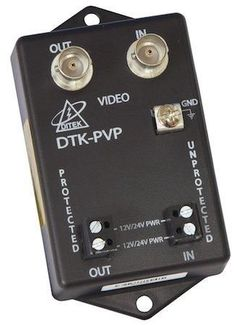 Ditek DTK-PVP27B Power and Video Surge Protector, BNC Connectors