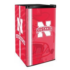 Use this Exclusive coupon code: PINFIVE to receive an additional 5% off the Nebraska Huskers Classic Counter Height Refrigerator at SportsFansPlus.com