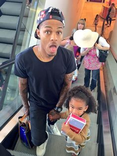 Bow Wow and his beautiful daughter