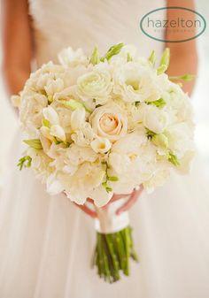 But with brighter colorsFeatured Bouquet | Soft White Romantic Bouquet | Wheaton Wedding Florist  Photo by Hazelton Photography, bouquet by www.kiokreations.com