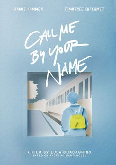 Call Me By Your Name alternative poster