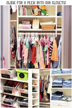 Organization tips for pantry and closet! via lilblueboo.com