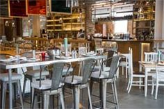 Grain Store - King's Cross, London, UK - Restaurant & Bar from Chef Bruno Loubet & The Zetter Salmon Breakfast, Best Breakfast, Restaurant Design, Restaurant Bar, Grain Store, Dining Club, Vegetarian Menu, Brunch Spots, Compact Living
