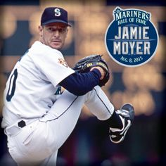 Jamie Moyer #Mariners Hall of Fame Day is August 8, 2015.