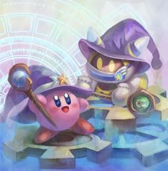Kirby series- Kirby and Magolor