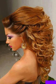 Western Beautiful And Stylish Hairstyles For Brides 2014 (4)