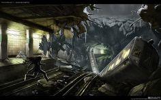 subway concept art - Google Search