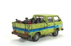 #scale #models #scalemodel #diorama #modern #german #Takom #T3 #Transporter