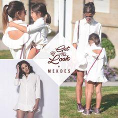 El Get The Look de esta semana no podría ser otro que uno inspirado en el #DíadelaMadre! Os gusta? #Mekdes #MothersDay #Vestido #MadreeHija  mekdes.es/collections/vestidos