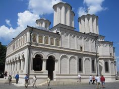 Romanian Patriarchal Cathedral, Bucharest, Romania | The church of the monastery was dedicated to Saint Constantine, the ...