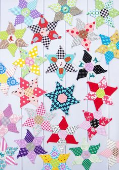 daisy chain quilt construction