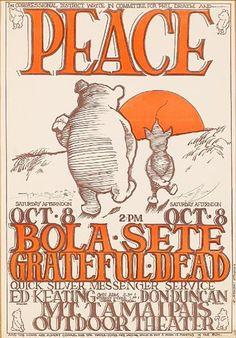 Alton Kelley & Stanley Mouse, Grateful Dead and Quicksilver Messenger Service http://www.mousestudios.com/