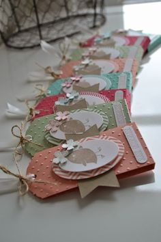 Wonderful Pics Scrapbooking Paper baby Strategies Scrapbooking paper sorts the historical past for every single web site of your scrapbook. Baby Scrapbook, Scrapbook Cards, Mini Albums, Handmade Gift Tags, Candy Cards, Scrapbook Embellishments, Christmas Tag, Stamping Up, Tag Art