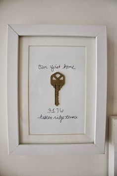 cute idea for our house that I want to put up