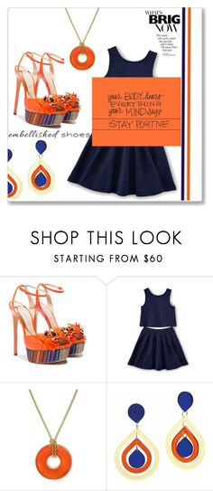 """embellished shoes"" by peta-5 ❤ liked on Polyvore featuring Casadei, Charter Club and Toolally"