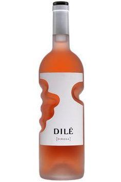 Unique bottle shape wine packaging design