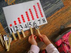 Νίκου Βασιλική Νηπιαγωγείο  Δημιουργίας...: ΑΡΙΘΜΟΙ:1-10 Problem Solving, Numbers 1 10, Math For Kids, Math Centers, Pre School, Kindergarten, Triangle, Maths, Kindergartens