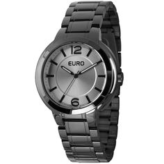 770e8501163 Relógio Euro Feminino Analógico Fumê EU2035LXP 3M - euro