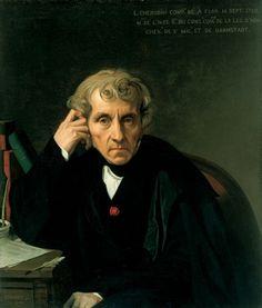 Luigi Cherubini by Jean-Auguste-Dominique Ingres