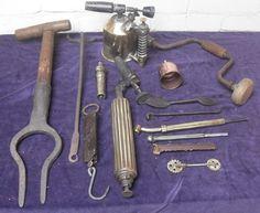 Online veilinghuis Catawiki: oud gereedschap
