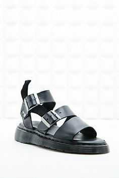 Dr. Martens Gryphon Sandals in Black