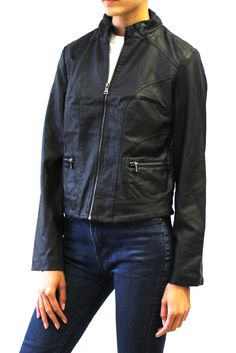 Faux Leather Quilted Moto Jacket  #quiltedmotojacket #motojacket #fauxleather #jacket