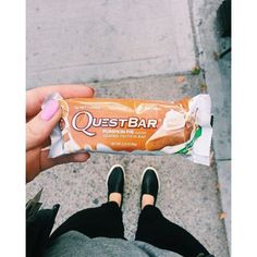 Cruising down the street with my Quest Bar! Healthy Eating Recipes, Snack Recipes, Snacks, Pie Box, Quest Nutrition, Loose Weight, Chips, Pumpkin, Bar