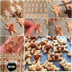 ¿Estas buscando alguna actividad para hacer con los niños? Te proponemos hacer galletas con forma de osos de peluche, la ventaja de elaborar galletas es que