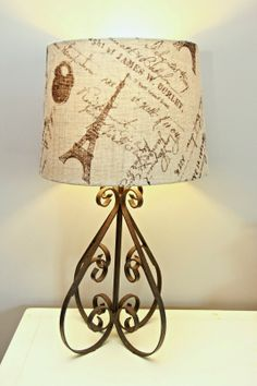 $2 Goodwill Upcycled Lamp