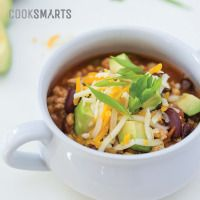 Slow Cooker Turkey Chili | Weeknight Meal #recipe via @CookSmarts