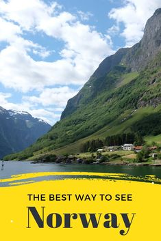One of the best ways to see the highlights of Bergen, fjord country and Oslo is by doing a Norway in a Nutshell trip. This self-guided tour is an action-packed way to see some of the best sights in Norway. #norway #norwayinanutshell #bergen #oslo #fjord #flam #flamrailway