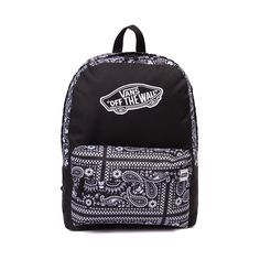 Shop for Vans Realm Star Wars Stormtrooper Backpack in Paisley Stormtrooper at Journeys Shoes. Shop today for the hottest brands in mens shoes and womens shoes at Journeys.com.Stormtroopers skate westward with awesome bandana print. Classic, simple, and now intergalactic. This Vans x Star Wars Realm Backpack touts timeless skate style, featuring a durable Stormtrooper bandanapaisley print canvas exterior, front zip utility pocket, embroidered Vans logo, and adjustable shoulder ...