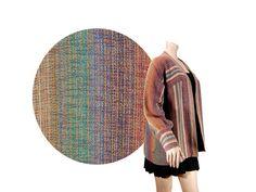 Medium Navajo Blanket Jacket // Vertical by IntertwinedVintage