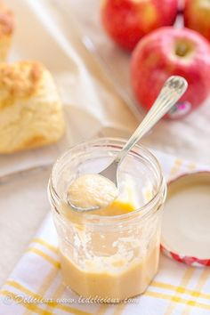 Apple Curd Recipe