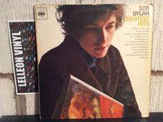 Bob Dylan Greatest Hits LP Album Vinyl Record CBS 62847 A2/B1 Rock 1966 60's Music:Records:Albums/ LPs:Folk:American