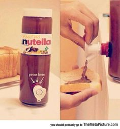My Life Is Complete: Nutella For Parties
