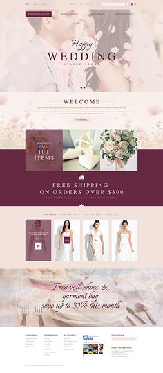Design Needs Time - Get Template Espresso! That's PrestaShop #template // Regular price: $126 // Unique price: $4500 // Sources available: .PSD, .PHP, .TPL #Wedding #PrestaShop