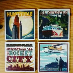 Check out these EarlyWorks Family coasters