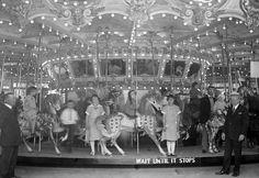 vintage glen echo carousel