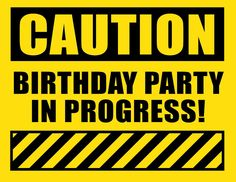 Luvibee Kids Company: Free Construction Birthday Party Printables