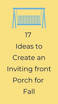 Check out these easy and cheap ideas for a fall porch update. These DIY ideas are quick and a great way to decorate you front yard and outdoor porch on a budget. #hometalk