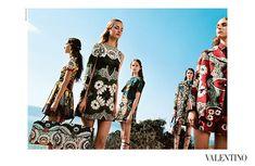 Valentino S/S 2015 Campaign   The Fashionography