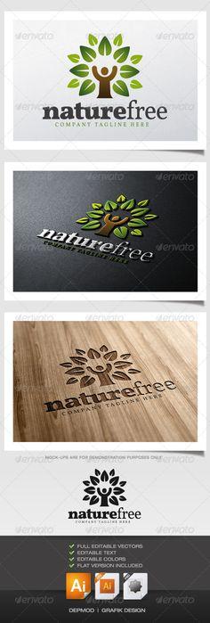 Nature Free Logo