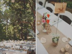 A Handmade Wedding in the Woods: Christine + Ian