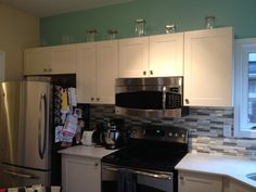 Kitchen ideas on pinterest pink kitchens tiffany blue for Tiffany blue kitchen ideas