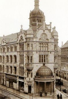 Berlin, Warenhaus Rosenthaler Straße 54, ca 1900.