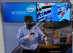 VR shopping Experience by INTEL