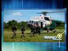 Repórter acompanha trabalho da Polícia Federal na selva amazônica
