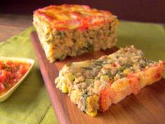 Veronica's Veggie Meatloaf with Checca Sauce : Recipes : Cooking Channel Omit the cheese